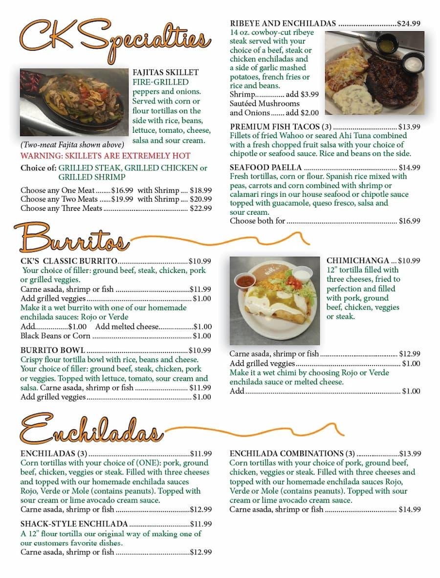 CKS menu 3